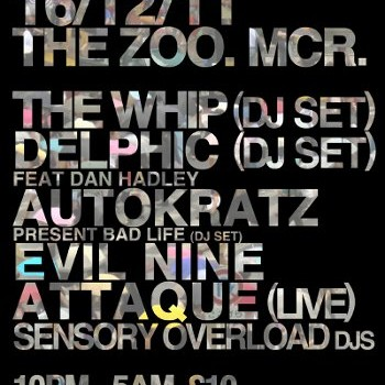 NEWS: FREE RANGE AT THE ZOO – OPENS WITH DELPHIC & THE WHIP DJ SETS