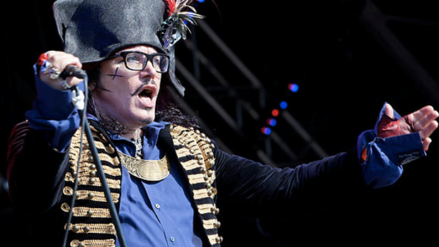 LIVE: ADAM ANT AND THE GOOD, THE MAD AND THE LOVELY POSSE – 25/11/2012