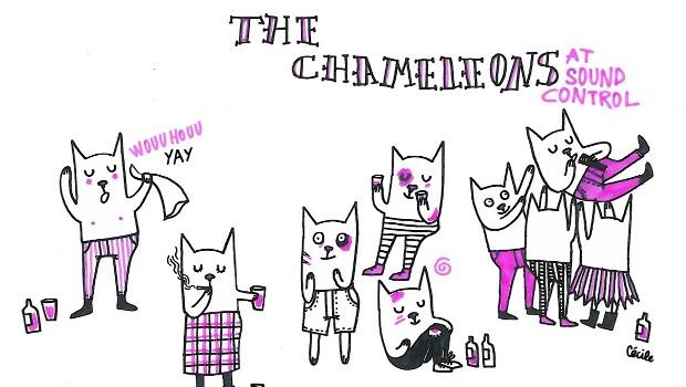 LIVE: CHAMELEONS VOX – 15/12/2012