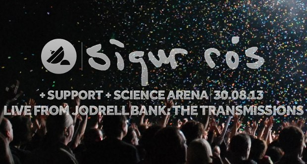 NEWS: SIGUR ROS TO HEADLINE LIVE FROM JODRELL BANK