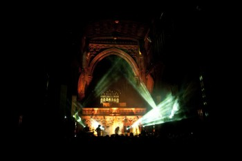 Beach House at Manchester Cathedral. Photo by Magnus Aske Blikeng