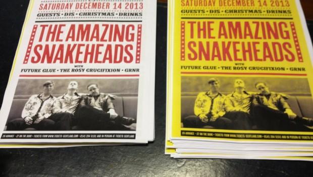 NEWS: THE AMAZING SNAKEHEADS – ANNOUNCE NME RADAR TOUR