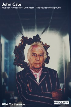 John Cale Liverpool Sound City 2014