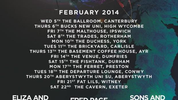 NEWS: SATELLITE TOUR – NEW MUSIC. NEW CIRCUIT. 5th – 22nd FEB 2014