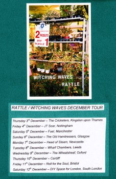 Witching Waves and Rattle Tour Dates