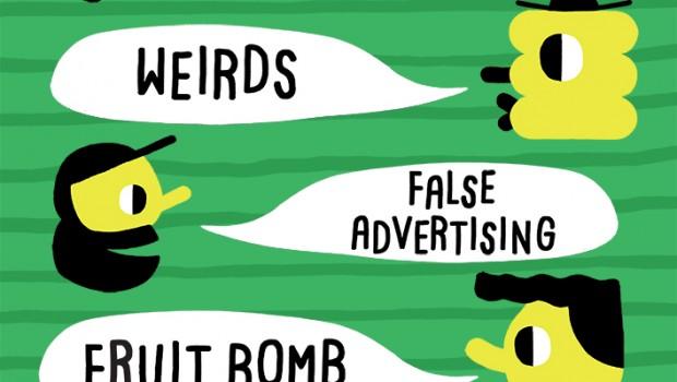 TROF & THE SKINNY PRESENT: MENACE BEACH,WEIRDS,FALSE ADVERTISING & FRUIT BOMB