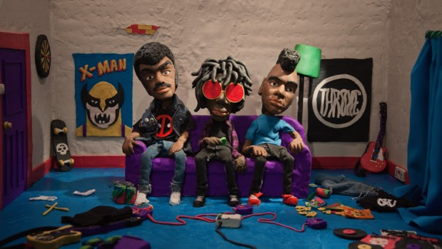 RADKEY RELEASE NEW FACE-MELTING CLAYMATION VIDEO FOR 'GLORE