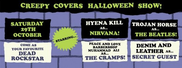 Creepy Covers Halloween Art