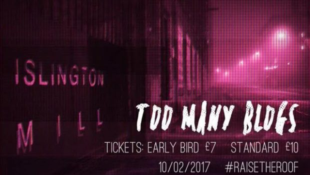 #RAISE THE ROOF AT ISLINGTON MILL FUNDRAISER THIS FRIDAY