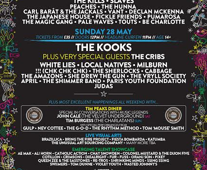 SOUND CITY UNVEIL MORE ACTS INCLUDING SPECIAL GUESTS THE CRIBS