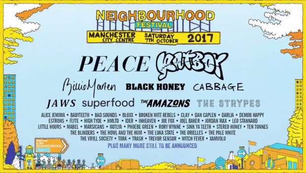 NEIGHBOURHOOD FESTIVAL 2017 LINE-UP ANNOUNCED