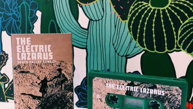 THE ELECTRIC LAZARUS RELEASE LIMITED EDITION CASSETTE FOR 'DEATH VALLEY SUNDAY' VIA BLAK HAND RECORDS - WATCH THE VIDEO