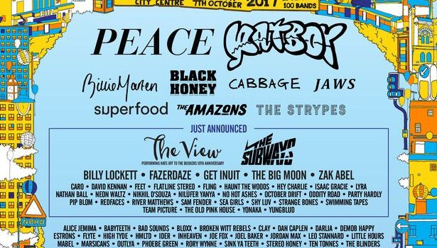 NEIGHBOURHOOD FESTIVAL SECOND WAVE LINE-UP ANNOUNCED INCLUDING THE VIEW AND THE SUBWAYS
