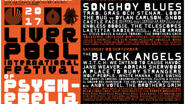 LIVERPOOL PSYCH FEST ANNOUNCE SINGLE DAY TICKETS ON SALE ALONGSIDE DAY SPLITS LINE-UP