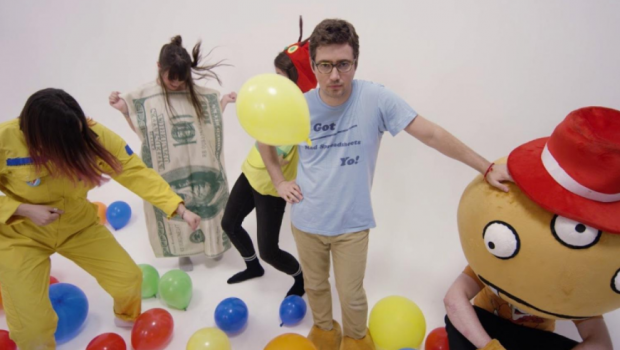 EXIT KID PREMIERE A NEW SURREAL 90'S AUSTRALIAN CHILDREN'S ENTERTAINERS WIGGLES-INSPIRED VIDEO FOR 'CAESAR'