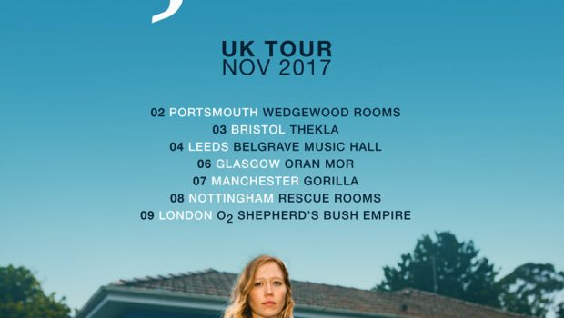 JULIA JACKLIN REVEALS 'COLD CALLER' - TAKE A LISTEN THEN CHECK OUT HER NOVEMBER 2017 UK TOUR DATES