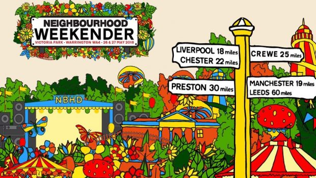 NOEL GALLAGHER'S HIGH FLYING BIRDS AND COURTEENERS TO HEADLINE NEIGHBOURHOOD FESTIVAL – TICKETS ON SALE THIS FRIDAY