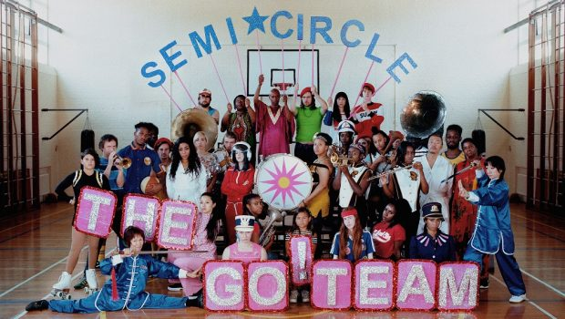 ALBUM: THE GO! TEAM – SEMICIRCLE