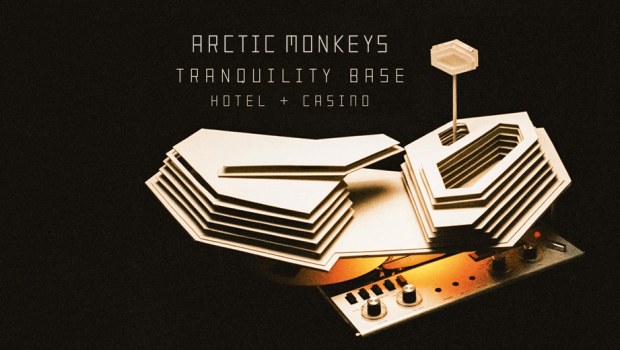 ALBUM: ARCTIC MONKEYS  - TRANQUILITY BASE HOTEL & CASINO