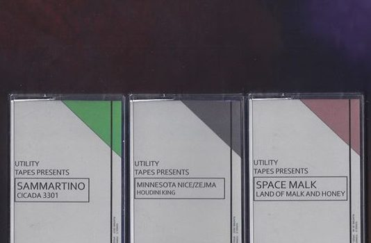 NEW CASSETTE LABEL UTILITY TAPES TO LAUNCH WITH THREE RELEASES