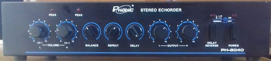 Phonic Stereo Echorder