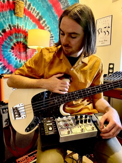 Tom Hudson - Magick Mountain Bassist