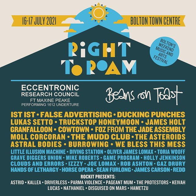 Right To Roam Lineup
