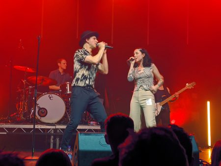 Maximo Park & Jess from Peaness